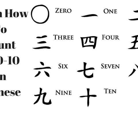 counts in chinese 1